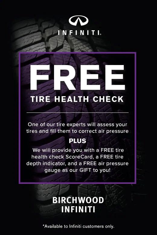 Free Tire Health Check